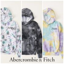 Abercrombie & Fitch(アバクロ) キッズ用トップス Abercrombie & Fitch ☆ 新作商品!! ☆ ロゴ入りパーカー 3色!!