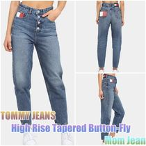 ☆*:..TOMMY JEANS..:*☆High Rise Tapered Button-Fly Mom Jean