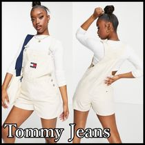 Tommy Jeans*ロゴ入りサロペット 国内発送★送料込