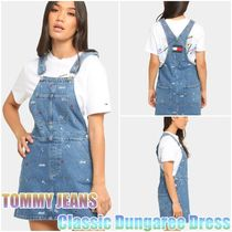 ☆*:..TOMMY JEANS..:*☆Women's Classic Dungaree Dress
