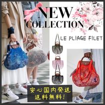 【国内発送】新作限定♡LE PLIAGE FILET MESH HANDBAG
