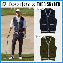 コラボ♪ ☆FOOTJOY X TODD SNYDER☆ SWEATER VEST