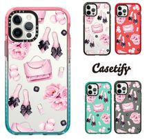 Casetify ☆ Pink fashion pattern / iPhone インパクトケース