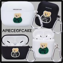 A PIECE OF CAKE(ピースオブケイク) テックアクセサリー 関税込★A PIECE OF CAKE★Patch Bear AIRPODS/PRO Case★ケース