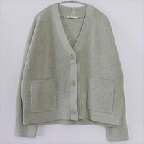 """COS"" PATCH POCKET CARDIGAN LIGHTGREEN!SALE!"