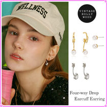 【VINTAGE HOLLYWOOD】Four-way drop Earring Set~4つのスタイル