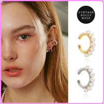 【VINTAGE HOLLYWOOD】Pearly Single Earcuff〜イヤーカフ