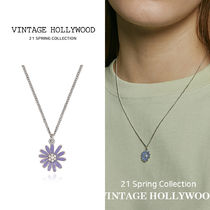 VINTAGE HOLLYWOOD(ヴィンテージハリウッド) ネックレス・チョーカー VINTAGE HOLLYWOOD★Blue Margaret Necklace_Small