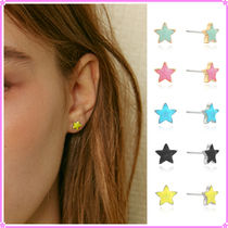 【VINTAGE HOLLYWOOD】Twinkle Little Star Post Earring~ピアス