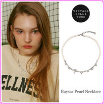 【VINTAGE HOLLYWOOD】Rayssa Pearl Necklace〜ネックレス★21SS