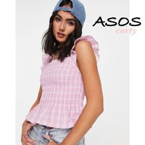 【ASOS】ペプラムヘムベスト 送料・関税込み
