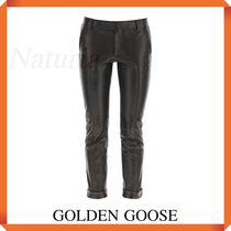 Golden Goose Agathe Leather Pants