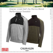 Calvin Klein Golf / 21SS / Glacier Lined Half Zip Sweater