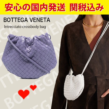 関税送料込国内発送★BOTTEGA VENETA Intrecciato crossbody bag