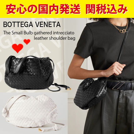 関税送料込国内発送★BOTTEGA VENETA leather shoulder bag
