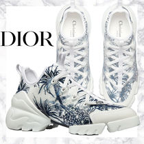 Dior 21SS Toilede JouyPalmsプリント レディーススニーカー
