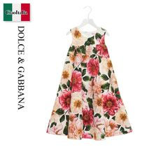 Dolce & Gabbana Camelia printed dress