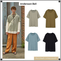ANDERSSON BELLのPOODLE SHORT SLEEVE KNIT atb527m 全4色
