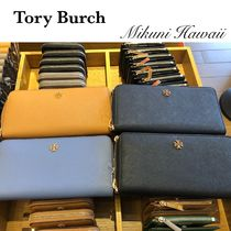 Outlet買付【Tory Burch】Emerson Wristlet Zip Continental
