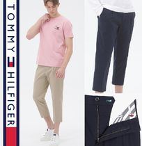 Tommy Hilfiger★正規品★Tapered tuck クロップドパンツ/追跡付