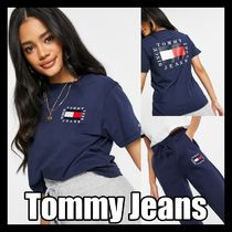 Tommy Jeans Box Flag★ Tシャツ&ジョガーセットアップ 送料込