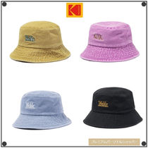 日本未入荷KodakのKODAK PLUS WASHED BUCKET HAT 全4色