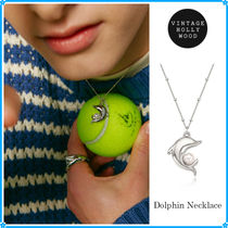 【VINTAGE HOLLYWOOD】Dolphin Necklace~ネックレス★2021春コレ