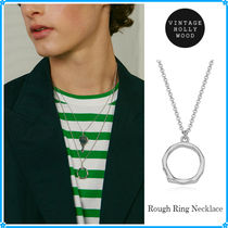 VINTAGE HOLLYWOOD(ヴィンテージハリウッド) ネックレス・チョーカー 【VINTAGE HOLLYWOOD】Rough Ring Necklace〜ネックレス★2021SS