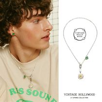 VINTAGE HOLLYWOOD(ヴィンテージハリウッド) ネックレス・チョーカー ☆VINTAGE HOLLYWOOD☆ Swing Daisy Charm Necklace ネックレス