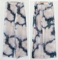 """""""COS"""" STRAIGHT LOOSE TROUSERS BEIGE/BLUE"""