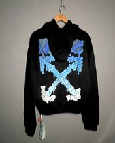 OFF WHITE  BLUE MARKER パーカー