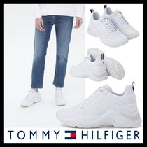 [TOMMY HILFIGER] Alba Leather Sneakers