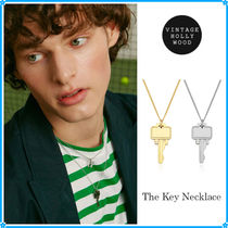VINTAGE HOLLYWOOD(ヴィンテージハリウッド) ネックレス・チョーカー 【VINTAGE HOLLYWOOD】The Key Necklace~ネックレス★2021春コレ