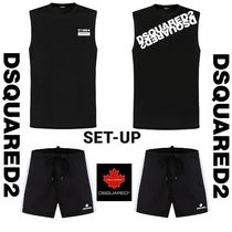 DSQUARED2 C1964 TANK TOP & BLACK BOARD SHORTS SET UP 2カラー