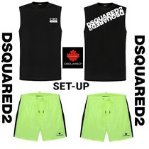 DSQUARED2 C1964 TANK TOP & NEON BOARD SHORTS SET UP 2カラー