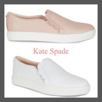 ☆Kate Spade☆Speed Scallop Leather スリッポンスニーカー