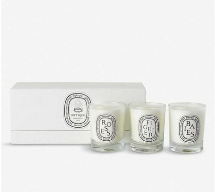 DIPTYQUE/Baies, Figuier and Roses mini candles 3 x 70g