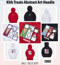 ★最新作★Kith Treats Abstract Art Hoodie