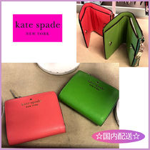 kate spade☆small l-zip bifold wallet☆コンパクト財布☆送込