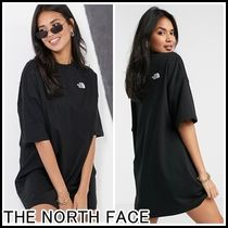 《THE NORTH FACE》ロゴ Tシャツワンピース 送料込み