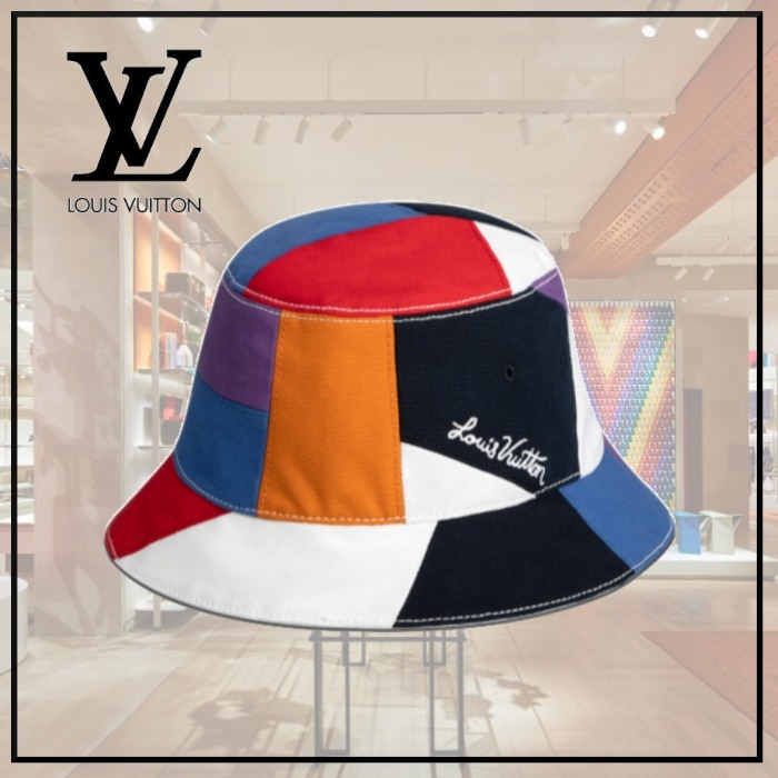 【21SS】ボネ・カラーパネル ハット ◆ルイヴィトン◆ (Louis Vuitton/ハット) MP2735