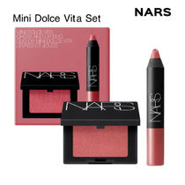 限定☆NARS☆Dolce Vita Blush & Velvet Matte Lip Pencil Set
