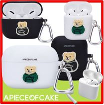 ☆【A PIECE OF CAKE】 ☆Patch Bear AIRPODS/PRO Case☆ケース