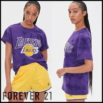 Forever21(フォーエバー21) Tシャツ・カットソー 【Forever21】レイカーズ タイダイ柄 半袖 Tシャツ