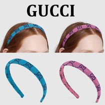【GUCCI】グッチ GG Multicolour canvas hair band カチューシャ