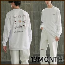 13MONTH(サーティーンマンス) Tシャツ・カットソー 男女兼用 ★13MONTH★ WAREHOUSE LONG SLEEVE T-SHIRT