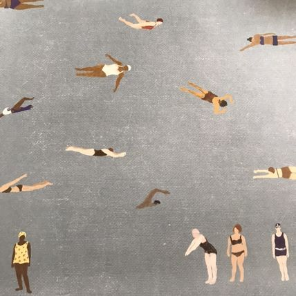 Fine Little Day ポスター 人気北欧ブランド【Fine Little Day】Swimmers poster(10)
