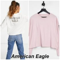 American Eagle Outfitters(アメリカンイーグル) Tシャツ・カットソー American Eagle ロゴ 長袖Tシャツ