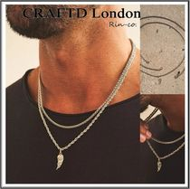 【CRAFTD London】 ウィング チェーンネックレス2点セット