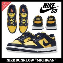 "☆入手困難 レア!NIKE SB DUNK LOW ""MICHIGAN"""